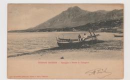 Termini Imerese (PA) Spiaggia E Monte S. Calogero  - F.p.- Fine '1800/ Inizi'1900 - Palermo