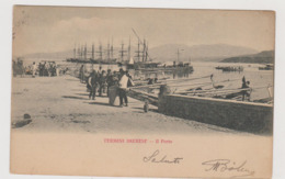 Termini Imerese (PA) Il Porto  - F.p.- Fine '1800/ Inizi'1900 - Palermo