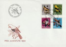 SWITZERLAND FDC 1969 - FDC