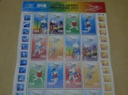 INDONESIAN MNH MINISHEET 26TH SEA GAMES - Indonesia