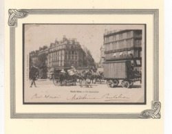 Cpa Paris Vécu N°10 Un Carrefour - Ile-de-France