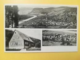 CARTOLINA POSTCARD GERMANIA DEUTSCHE 1950 HASLOCH BOLLO OCCUPAZIONE ALLEATA  OBLITERE' POSTKARTEN - Germania