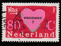 Netherlands 1997 Greeting Stamp 80 C Multicoloured SW 1607 O Used - Period 1980-... (Beatrix)