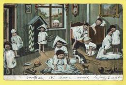 * Fantaisie - Fantasy (Bébés Multiples - Baby) * (série 152) Pot De Chambre, Pispot, Enfants, Chat Cat, Chien Dog, Armée - Bebes