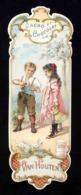 Chromo Cacao Et Chocolat Van Houten. Enfants, Poupée. Marque Page (117266) - Van Houten