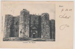 Bari , Castel Del Monte  - F.p.- Fine '1800 / Inizi'1900 - Bari