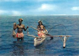 Polynésie Française- TAHITI  Retour De Pêche(1) (pirogue  Vahiné) )( LABAYSSE La Baysse N°84)@*PRIX  FIXE - Polynésie Française