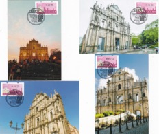 MACAO/MACAU 2019 Guangdong HK Macau Greater Bay Area ATM LABEL MC 4V - 1999-... Chinese Admnistrative Region