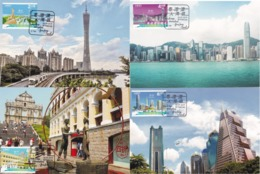 MACAO/MACAU 2019 Guangdong HK Macau Greater Bay Area MC 4V - 1999-... Chinese Admnistrative Region