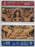 3 Cartes De Thailande -  Port En Plus - Thaïlande