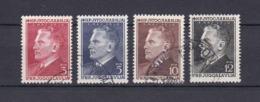 Jugoslawien - 1950 - Michel Nr. 605/608 - Gest. - 30 Euro - 1945-1992 Socialist Federal Republic Of Yugoslavia
