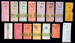Île Maurice , Mauritius , Bus , Ticket , Tickets , Autobus , Autocar , Transport . - Places
