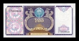 Uzbekistan 100 Sum 1994 Pick 79 SC UNC - Uzbekistán