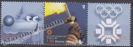 Bosnia Hercegovina - Bosnie 2004 Yvert 413, 20th Ann. 14th Olympic Winter Games At Sarajevo - MNH - Bosnia Herzegovina