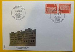 9052 -  S72 FDC  Berne 18.06.1970 - Zusammendrucke