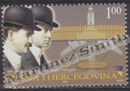 Bosnia Hercegovina - Bosnie 2003 Yvert 408, Wright Brothers First Flights, Airplane, Aviation - MNH - Bosnia Herzegovina