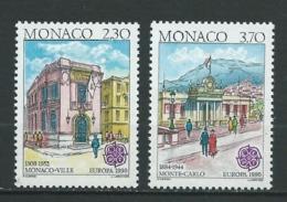 MONACO 1990 . N°s  1724 Et 1725 . Neufs ** (MNH) . - Monaco