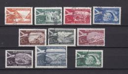 Jugoslawien - 1951 - Michel Nr. 644/652+653 - Gest. - 1945-1992 Socialist Federal Republic Of Yugoslavia