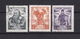 Jugoslawien - 1951 - Michel Nr. 668/670 - Gest. - 40 Euro - 1945-1992 Socialist Federal Republic Of Yugoslavia