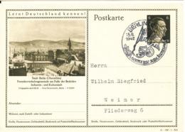 Germany Reich Postal Stationery Postkarte Berlin 15-8-1942 Hertha Berlin S.C. 50 Jahre Jubiläumsspiele - Allemagne
