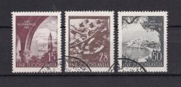 Jugoslawien - 1952 - Michel Nr. 704/706 - Gest. - 20 Euro - 1945-1992 Socialist Federal Republic Of Yugoslavia