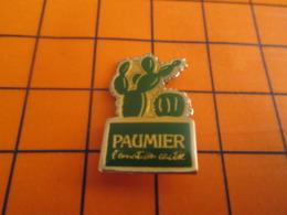 313j  Pins Pin's  / Rare & Belle Qualité / THEME MARQUES / CACTUS PAUMIER L'EMOTION CACTEE - Markennamen