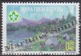 Bosnia Hercegovina - Bosnie 2002 Yvert 371, Scouts - MNH - Bosnia Herzegovina