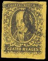 MEXICO. Black Yellow. Used Naive Forgery.. FALSOS. FAKES. FORGERIES - Mexico