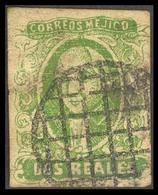 MEXICO. 2rs 56 / 1865 Grill. Old Naive Fake.. FALSOS. FAKES. FORGERIES - Mexico
