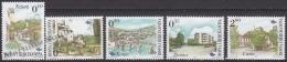 Bosnia Hercegovina - Bosnie 2001 Yvert 340-44, Definitive Set, Cities - MNH - Bosnia Herzegovina