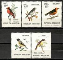 Argentina 1978 / Birds MNH Vögel Aves Oiseaux Uccelli / Jy12  5-12 - Pájaros