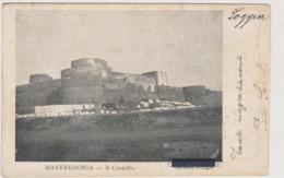 Manfredonia (FG) Castello - F.p.- Fine '1800 / Inizi'1900 - Manfredonia
