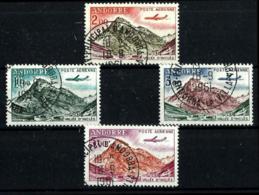 Andorra Francesa A-5/8 Usados. Cat.9,50€ - Used Stamps