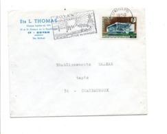 N°1554 SEUL SUR LETTRE DE ROYAN 1969 - Marcophilie (Lettres)