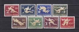 Jugoslawien - 1956 - Michel Nr. 804/811 - Gest. - 60 Euro - 1945-1992 Socialist Federal Republic Of Yugoslavia