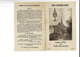 MAP 313 - BOIS SEIGNEUR ISAAC - HEILIGDOM EN RELIEK VAN T KOSTBAAR BLOED VAN MIRAKEL - Religion & Esotérisme
