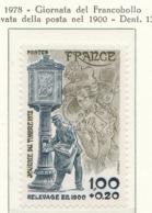 PIA - FRAN -1978 : Giornata Del Francobollo -Levata Della Posta Nel 1900  - (Yv 2004) - Giornata Del Francobollo