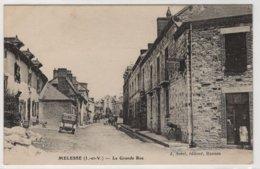 CPA MELESSE -  La Grande Rue - Andere Gemeenten