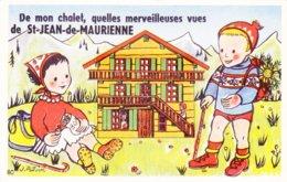 CARTE A SYSTEME / St Jean De Maurienne / CPSM 1960s - Saint Jean De Maurienne