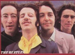 The Beatles British Band Liverpool Joepie Old Vintage Sticker Autocollant Aufkleber Adesivo - Autocollants
