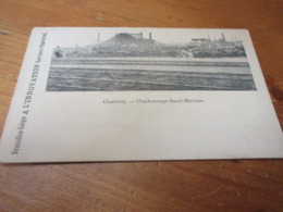 Charleroi, Charbonnage Sacre Madame - Charleroi