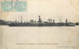 CPA 33 Gironde Bordeaux (?) Echouement Du Montgomery Sur Le Banc De Pachan (Gérème) Rivière Pauillac - Pauillac