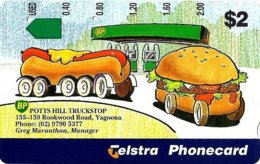 AUSTRALIA $2 BP PETROL STATION CARTOON NOT FOR SALE  1000 ONLY USED !!AUS-640  READ DESCRIPTION !! - Australia