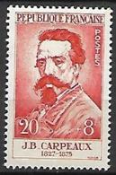 FRANCE   -   1958 .  Y&T N° 1170 ** .    J-B.  Carpeaux - Unused Stamps