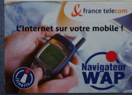 Petit Calendrier De Poche 2001 France Telecom Navigateur WAP - Calendriers