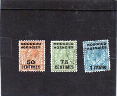 B -  1917/24 Tangeri - Morocco Agencies - Oficinas En  Marruecos / Tanger : (...-1958