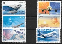 T 00682 - France, Poste Aérienne N° 64 à 69 Neufs Luxe  Côte 67.00 €  Faciale 26.90 - Poste Aérienne