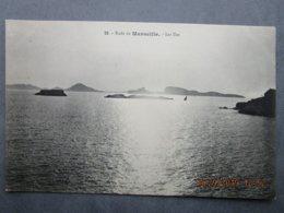 CPA 13 MARSEILLE La Rade De Marseille,les Iles, Endoune,ilôt Des Pendus,archipel Du Frioul,de Riou, Ile Du Planier 1910 - Château D'If, Frioul, Iles ...