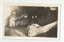 Bretagne Photographie Cote St Sébastien Nantes Couple De Femmes 1938 Photo 7x11,5 Cm Env - Lugares