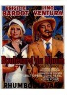Réf. 478/ 1 CPM - Carte Postale Cinéma - Boulevard Du Rhum Brigitte Bardot Lino Ventura - Affiches Sur Carte